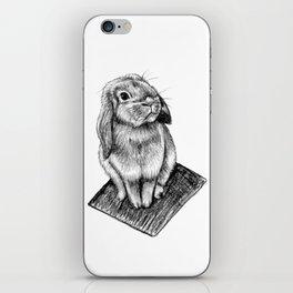Bunny #5 iPhone Skin