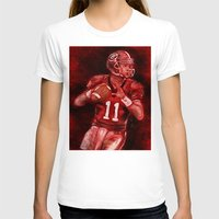 murray T-shirts featuring Aaron Murray of UGA Bulldogs Football by Wesley S Abney