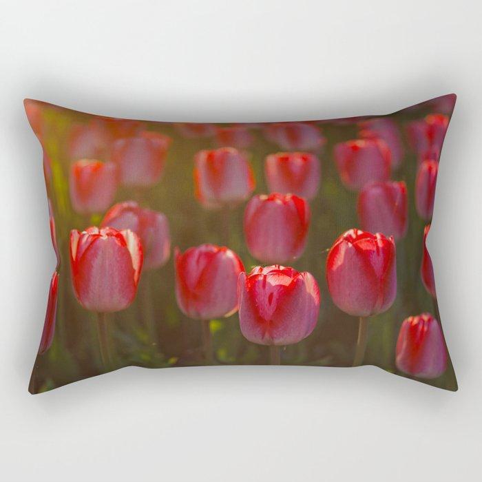 Tulips spring Rectangular Pillow