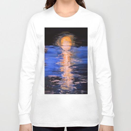 super moon Long Sleeve T-shirt