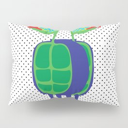Animal Mardi Gras: Turtle Pillow Sham
