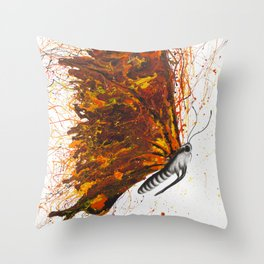 Power and Passion Throw Pillow