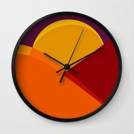 alla montagna Wall Clock