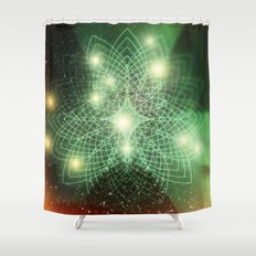Geometry Dreaming Shower Curtain