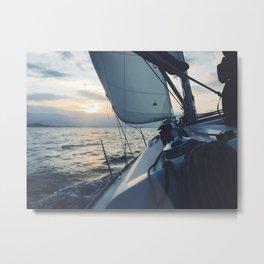 Boat Life Metal Print
