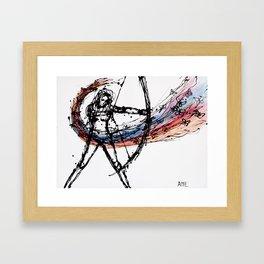 Notata Framed Art Print