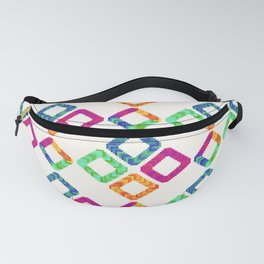 Colorful Pixel Pattern Fanny Pack