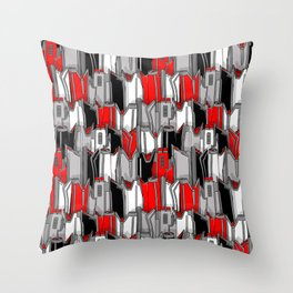 1960s classic fairy tails (tail fins) Throw Pillow