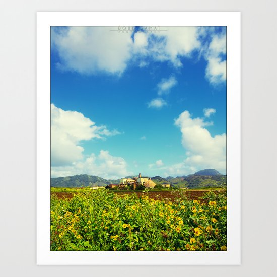 Sugar Mill Art Print