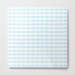 BREE ((baby blue)) Metal Print