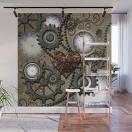 Steampunk II Wall Mural
