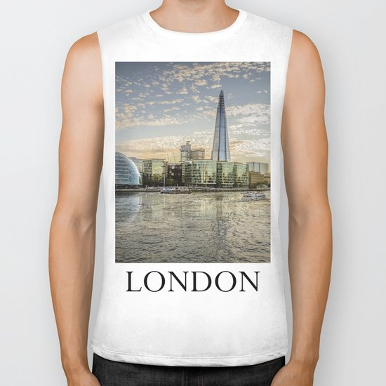 London waterfront Biker Tank