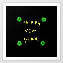 happy new year 11 Art Print