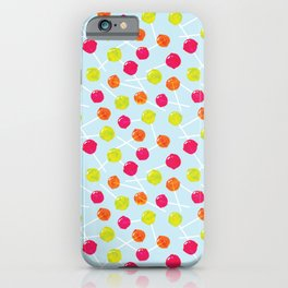 Watercolour Lolly Pops, Watercolor Popsicles iPhone Case