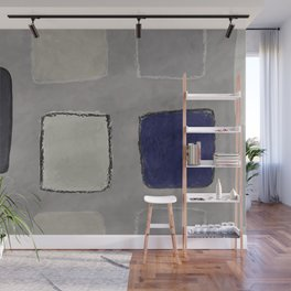 untitled-blue Wall Mural