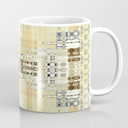 Abstract Neutrals with Edging (Rug Style) Coffee Mug