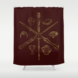 Priori Incantatem Shower Curtain