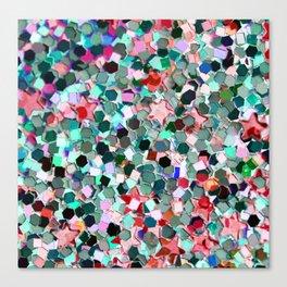 Colorful Sparkles Canvas Print