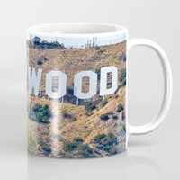 hollywood Mugs featuring Hollywood by DanielleC