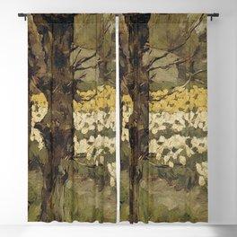 Anton L Koster - Bollenvelden Blackout Curtain