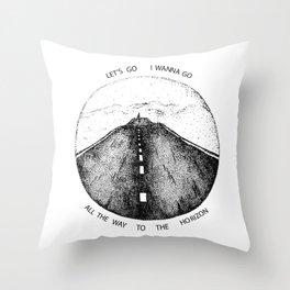 Biffy Clyro - Mountains lyrics Throw Pillow