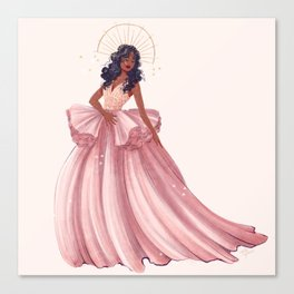Belle of the Ball - Sza Canvas Print