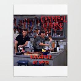 Seinfeld- Death Metal Poster