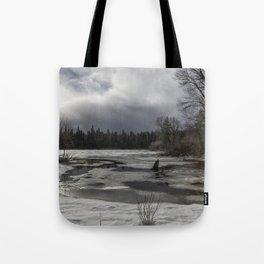 An Intricate Landscape Tote Bag