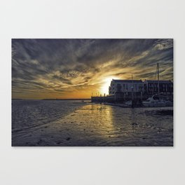 Brightlingsea Harbour Canvas Print