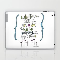 God's Prepping You Laptop & iPad Skin