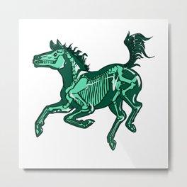 glass mythical horse T-Shirt  Metal Print