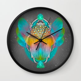 The Darkest Night Will End and the Sun Will Rise Wall Clock