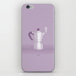 Coffee Maker Series - Moka iPhone Skin