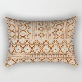 kilim geo in sand Rectangular Pillow