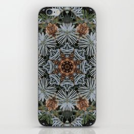 Spruce Cones And Needles Kaleidoscope K4 iPhone Skin
