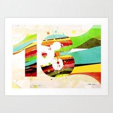 13 Art Print