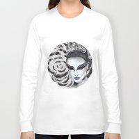 black swan Long Sleeve T-shirts featuring Black Swan by Matt McVeigh