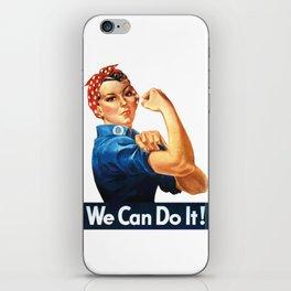 WE CAN DO IT Pop Art iPhone Skin