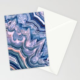 Agate ornaments Stationery Cards