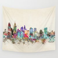 philadelphia Wall Tapestries featuring philadelphia pennsylvania by bri.buckley