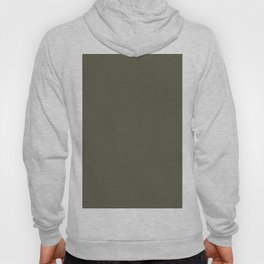 Green Solid Color - Dark Military Green / Olive Green Parable to Dunn Edwards Olive Court DEA174 Hoody