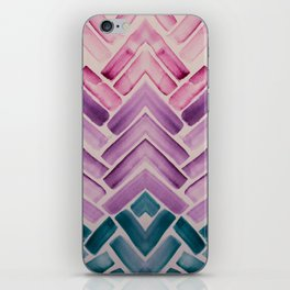 Decor Colorful Watercolor Abstract Pattern iPhone Skin