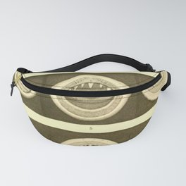 Vintage Cephalopod Mouths Fanny Pack
