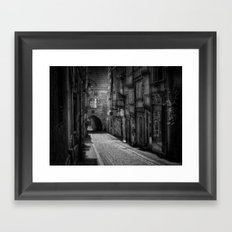 Everything's waiting for you Framed Art Print