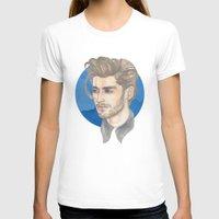 zayn malik T-shirts featuring Malik by Megan Diño