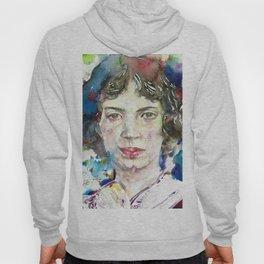 EMILY DICKINSON - watercolor portrait.3 Hoody