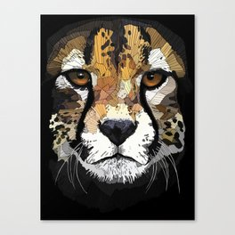 Face de Chita Canvas Print