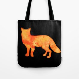 Fox in the dark Tote Bag