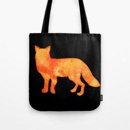 Fox in the dark Tote Bag