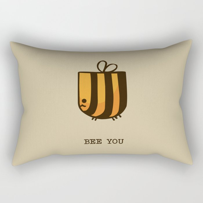 Bee You Rectangular Pillow